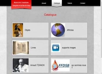Musée de la Transfusion Sanguine et du Don de Sang - écran n°2
