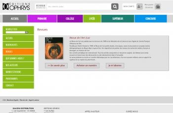 Ophrys - écran n°5