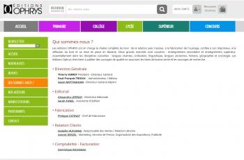 Ophrys - écran n°6