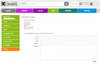 Ophrys - écran n°9