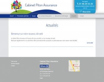 Piton assurance - écran n°5