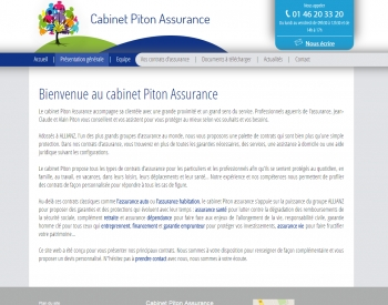 Piton assurance - écran n°2