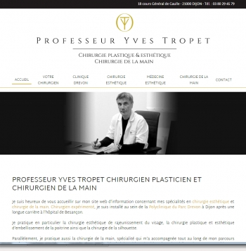 Professeur Yves Tropet - écran n°1