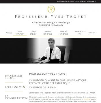Professeur Yves Tropet - écran n°3