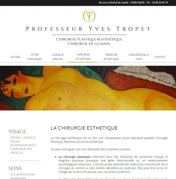 Professeur Yves Tropet - écran n°5