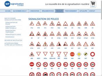 WP signalisation - écran n°11