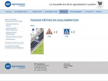 WP signalisation - écran n°10