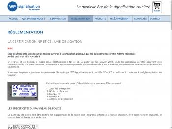 WP signalisation - écran n°4