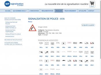 WP signalisation - écran n°12