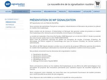 WP signalisation - écran n°3