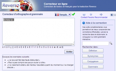 Correction orthographique