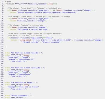 Comment avoir une fonction PHP avec X arguments ? Partie 2