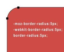 Créer des coins arrondis en CSS