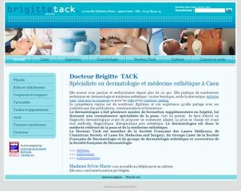 Docteur Brigitte Tack dermatologue esthétique et laser à Caen