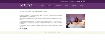 Athina - voyance - écran n°2