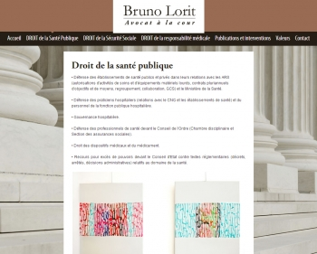 Avocat Bruno Lorit - écran n°2