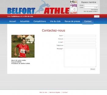 Belfort Athlé - écran n°6