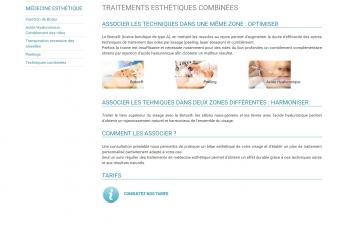 Centre de Dermatologie & Lasers des docteurs Olivia Roux & Maxime Zakaria - écran n°7