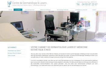 Centre de Dermatologie & Lasers des docteurs Olivia Roux & Maxime Zakaria - écran n°2