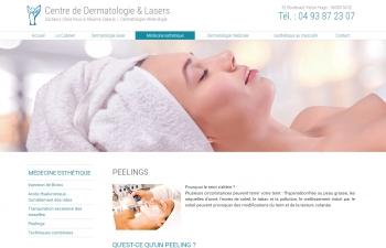 Centre de Dermatologie & Lasers des docteurs Olivia Roux & Maxime Zakaria - écran n°5