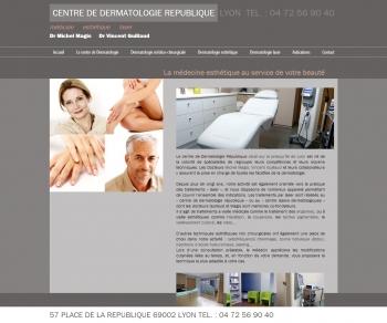 Centre de dermatologie république - écran n°1