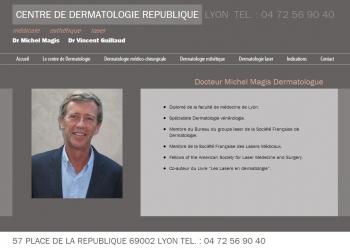 Centre de dermatologie république - écran n°3