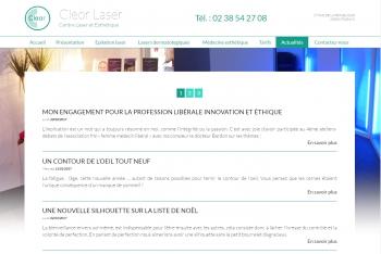 Cleor laser - écran n°6