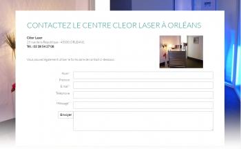 Cleor laser - écran n°7