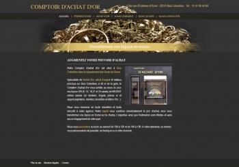 Comptoir d'achat d'or - écran n°2