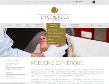 Docteur Cyril Roux - écran n°4