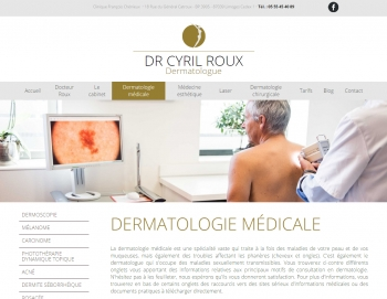 Docteur Cyril Roux - écran n°3