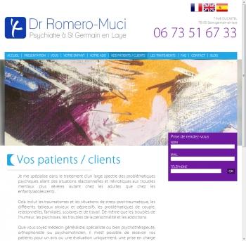 Docteur Roméro-Muci - écran n°7