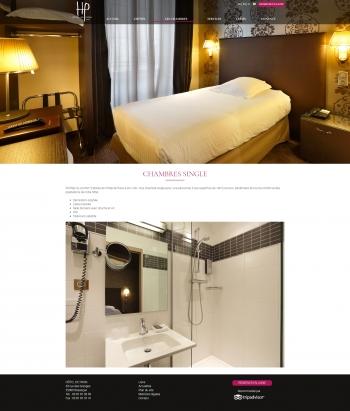 Hôtel de Paris à Besançon - écran n°5