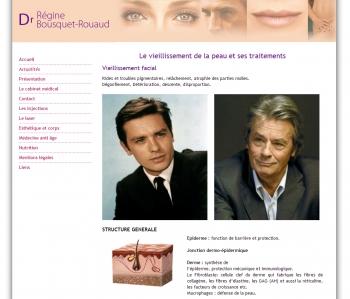 Laser esthétique - Dr régine Bousquet-Rouaud - écran n°1