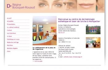 Laser esthétique - Dr régine Bousquet-Rouaud - écran n°2