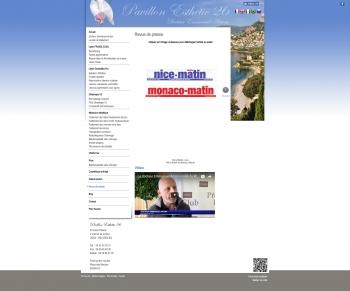 Pavillon Esthétic 26 - Dr Emmanuel Antoni - écran n°7